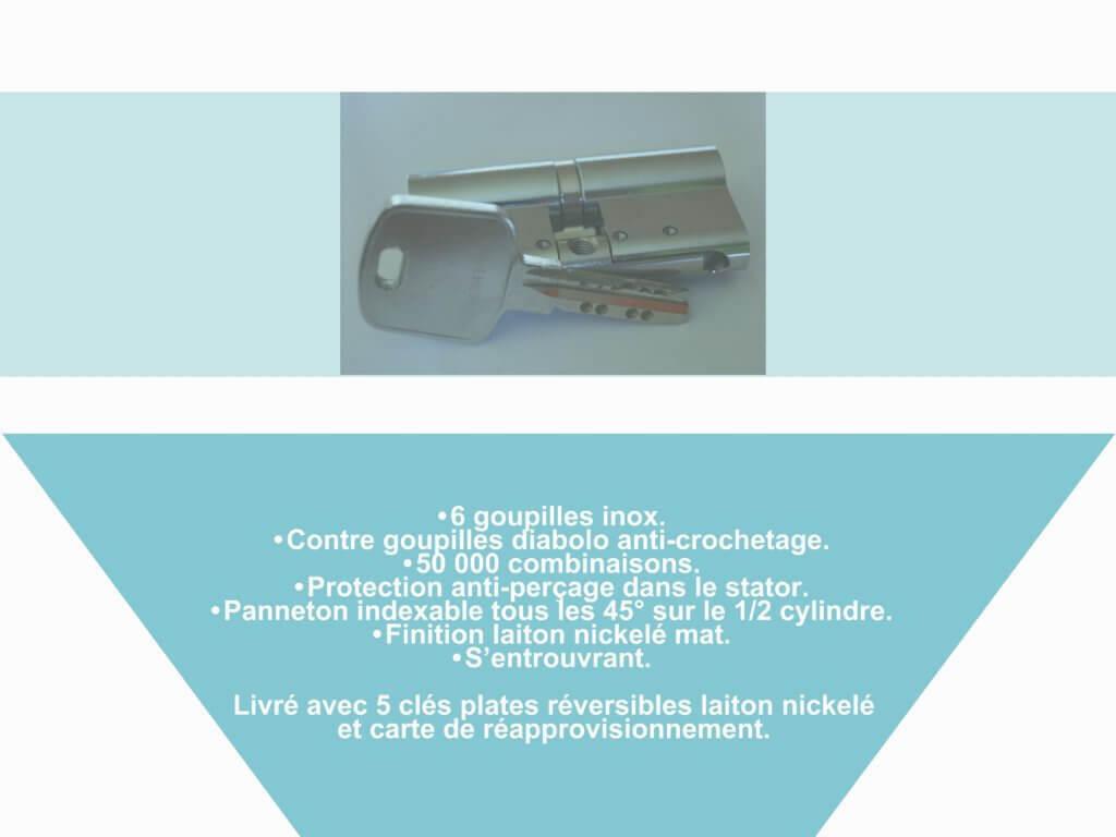 Protéger votre habitation en remplaçant votre cylindre par un de sécurité.